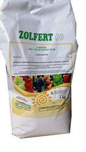 ZOLFO AGRICOLO BAGNABLE CORRECTIVE VIS FRUITICURE ORGANGES kg.1 ZOLFERT 80