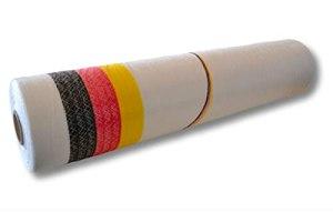 1 rouleau de filet à balles rondes OCTANET « Germany » – noir/rouge/or – blanc – 1,30 x 3000 m