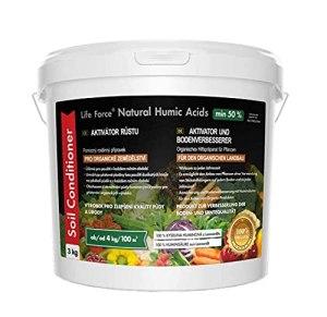 Acides humiques naturels pour l'agriculture biologique 2 x 3 kg