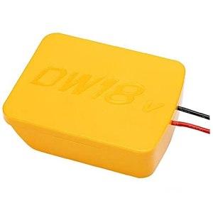 Adaptateur de roue de courant 14.4-20V Adaptateur de batterie au lithium 8V / 20V Connecteur d'alimentation de quai Compatible avec Dewalt