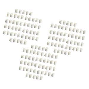 Amuzocity 150 X Éponge de Pépinière Éponge Hydroponique Blanche de Pouce Vert