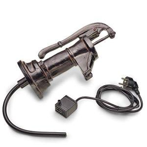 AQUANIQUE gargouille Set Pompe à Bras SSF 200i, Jeu d'eau/Sujet cracheur en polyrésine avec Pompe, 200 l/h, câble de 1,5 m