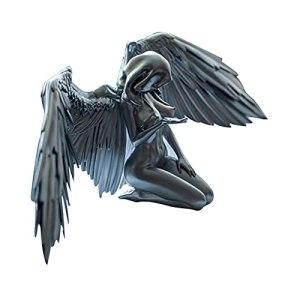 Art Angel Cape en forme d'ailes féminines pour l'intérieur et l'extérieur