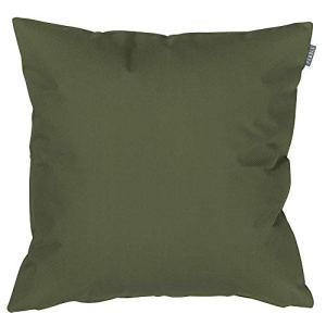 Bean Bag Bazaar Coussin d'extérieur en forme de palmier tropical – 43 cm – Moderne – Résistant à l'eau – Pour chaises de jardin ou de terrasse
