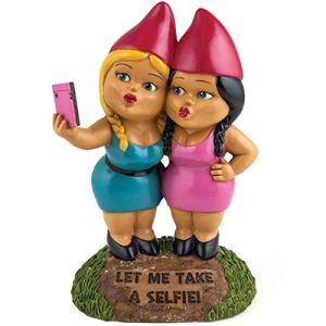 Bigmouth Nains de Jardin pour Selfie sœurs