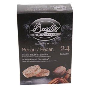 Bradley Technologies BTPC24 Pecan Bisquettes 24 Pack
