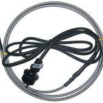 Câble chauffant SLL 20 W/m – 45 m – Pour protéger contre les dommages causés par le gel dans les gouttières et à l'extérieur – Chauffage d'appoint – Fonctionnement sans gel des modules PV.