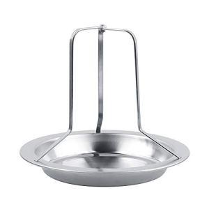 CjnJX-Vases Support de Poulet rôti Vertical en Acier Inoxydable Support de rôtissoire Barbecue Outils de grillade Camping en Plein air Fournitures de Cuisine