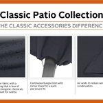 Classic Accessories 55–553–010401–00Housse de Foyer Ovale, Noir, 91,4cm