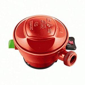 COMAP S220572 Détendeur BUTAGAZ Pour gaz propane quick-on 37mbar pour bouteilles cube et viseo