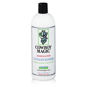 Cowboy Magic Après-shampoing unisexe Rosewater – Blanc – 3,8 l