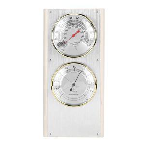 DPYF Thermomètre et hygromètre en bois pour sauna – Outil de mesure de la température et de l'humidité