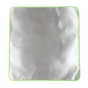 Dreameryoly Tapis de Protection de Pont 100 100 cm Grille de Protection et Tapis de Protection pour Foyer extérieur Tapis Ignifuge Tapis de Gril Bouclier de Patio Foyer au gaz Forceful