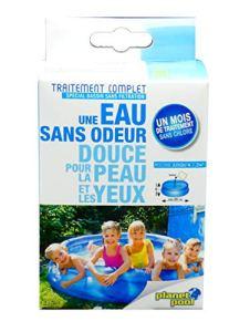 EDENEA – Traitement Complet Piscine Enfant Oxygène Actif (Bassin < 1,2 m3) - Sachets Pré Dosés - Dissolution Immediate - Spécial Piscine sans Filtration - 800 à 1200 litres
