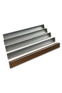 fexon Rails aromatiques en acier inoxydable V2A 1,5 mm   Répartiteur de flamme   Tôle de flamme   Flavorizer Bars   Couvercles de brûleur pour Weber Spirit 310/320/330 jusqu'à 2012 (5 pièces) 7534