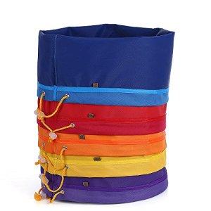 Galapare Bubble Bag avec 5 Sacs de 5 Gallon Ice o Lator Bag pour Extraire Les Essences Sac D'extraction avec Presser l'écran et Sac de Transport