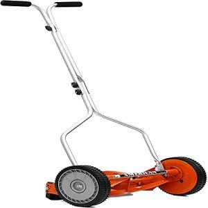 HanPiaoLiang Reel Type Lawn Mower Manual Lawn Mower Cuts sharply, Garden, Lawn Manual Lawn Mower(Size:Tondeuse à Gazon à Main)