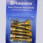 Husqvarna Kit de boulons de rechange pour chasse-neige avec 6 boulons | 580790401