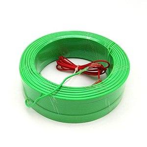 HZPXSB Toutes Les Tailles 30/50/100/120M Chauffage de Sol Câble de Serre de Serre Chauffage Fil de Plancher Chaud pour Plantes (Size : 30 Meters)