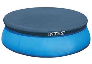 Intex Bâche pour piscine Easy-Set 3,05 m, bleu, 305 x 305 x 0,1 cm, 28021