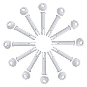 Joint Piscine Tubulaire Pour Intex Piece Round Metal Frame Rechange Piscine à Cadre Métallique Goupilles Jointes Picine Rectangulaire Ronde 12 Pièces Goupille Piscine(6cm / 2.36in)