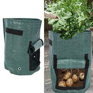 KAKAKE Sac de Culture de Plantes, Sacs de Culture de Jardin légers réutilisables pour l'intérieur pour Le Jardin