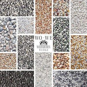 Kit complet pour tapis de pierre W730 Gravier de marbre Bardiglio Licht 4-8mm – 2 m2