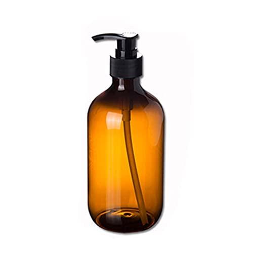 Kunsa Distributeur de Savon Liquide nettoyant pour Le Visage Organiser Bouteille shampooing Gel Douche et Lotion Bouteilles de Stockage 500 ML