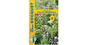 Les Graines Bocquet – Mélange de fleurs Mellifères- Gros Grammages- Graines potagères à semer
