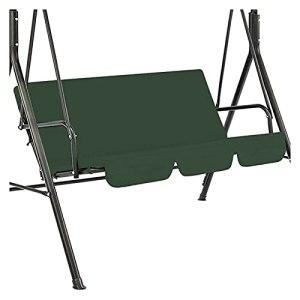 LFOZ Chaise de siège battante Chaise de Coussin étanche Patio Patio Jardin Yard Remplacement du siège extérieur (Color : Blue)