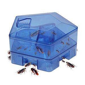LKHF Boîte de pièges à cafards, piège à cafards, efficace, pratique, sûr, attrape-pièges en plastique Killer pour cafards.