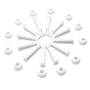 Lot de 12 goupilles de joint pour piscine – 6 cm – Avec capuchon – Accessoires de piscine
