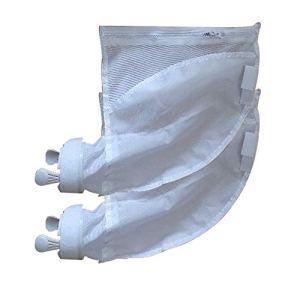 Lot de 2 sacs de nettoyage pour piscine avec filtre de rechange pour Polaris 280/480