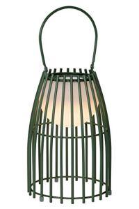 Lucide FJARA – Lampe de table Extérieur – Ø 17,5 cm – LED Dim. – 1×0,3W 3200K – IP44 – Vert