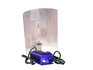 Lumatek Kit d'éclairage HPS & MH 250 W 400 W 600 W 1000 W 240 V 600 W 400 V Kit 400W – Ballast 400W 240V + Bulb + Shade