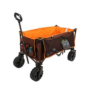 Middle Chariot De Jardin Chariot a Main,Pliable Chariot,Poignée Push-Pull réglable,140 kg de Charge,Facile à Plier, Facile à démonter,Convient pour Le Camping, Les achats au supermarché