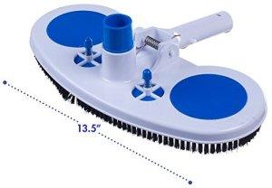 Milliard Air-relief lesté piscine et spa Aspirateur Tête, 34,3cm de large Surface de nettoyage Parfait sur Vinyle doublé piscines