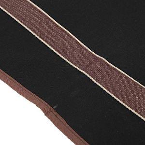 minifinker Sac de bûche de Grande capacité, pour Foyer de cheminée(Black)