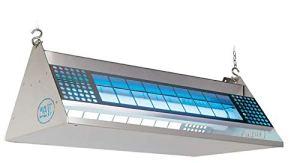 Moel Mo-Stick 372 Piège à Colle en Acier Inoxydable avec 2 Ampoules 40 W et 220-240 V