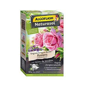 Naturasol Engrais Rosiers et Plantes Fleuries 800g Algoflash