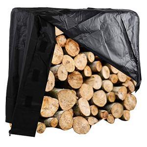 PBOHUZ Couverture de Support de bûches – Protection de Couverture de Supports de Stockage de Bois de Chauffage pour Le Jardin extérieur
