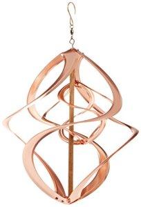 Red Carpet Studios Cosmix Cuivre Double Wind Sculpture, Petite