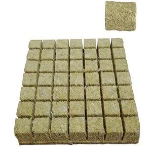 Rockwool Grow Cubes Planty Nursery Block Hydroponic Sheilless Culture Compressez la base pour la croissance des plantes STYLE1 50PCS