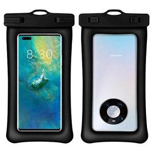 Sac de Bain étanche, Pochette étanche, Sac de téléphone étanche Double airbag Sac étanche pour téléphone Portable Sac étanche sous-Marin