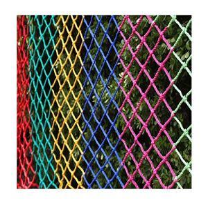 Sécurité Net Balcon Protection de jardin Décoration de jardin Couverture de cargaison Net enfant Sécurité Net Balcon Nettère Protection Netting Protection Filet de clôture extérieure Filets d'escalade