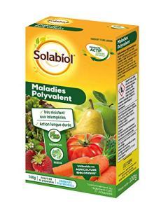 Solabiol SONOMAL100   Maladies Polyvalent   100g   Jusqu'à 60l de Solution, Action Rapide