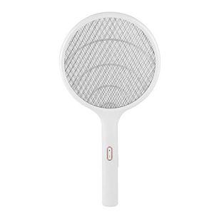 TAKE FANS Tapette Électrique-Maison sans Fil LED USB Rechargeable Électrique Moustique Tapette Mouche Insecte Bat Raquette Tueur