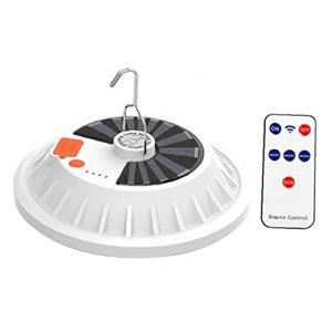 UFO Shape Lanterne solaire, lampe de tente rechargeable Portable Camping Lantern 120 LED Night Ampoule 120W USB avec télécommande