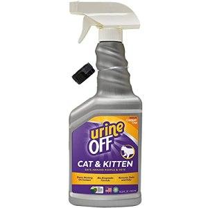 Urine Off pour Chat et Chaton Spray pour Les Surfaces Difficiles, 500 ML – Fabriqué aux Etats-Unis