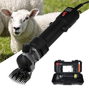 Vinteky Tondeuse à Mouton Électrique,Tondeuse Electrique Professionnelle pour LaineTondeuse Mouton à Haute Puissance Économie de Travail, Tondeuse pour Laine Mouton Chèvre Machine de Cisaillement
